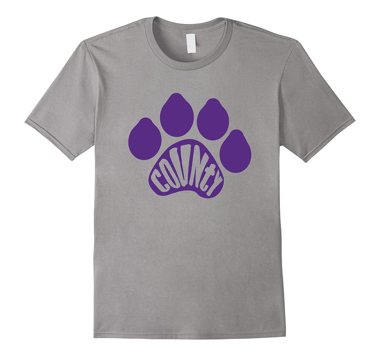 County Paw Print Fan T-Shirt-Art