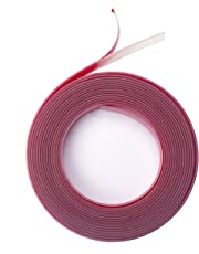 Ezyglide Tape - Stops curtain rings catching on curtain poles (especially extendable poles) - 4m