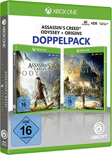 Assassins Creed Odyssey + Assassins Creed Origins - Xbox One ...