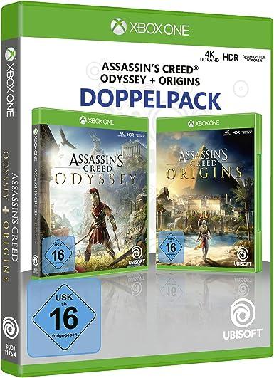 Assassins Creed Odyssey + Assassins Creed Origins - Xbox One [Importación alemana]: Amazon.es: Videojuegos