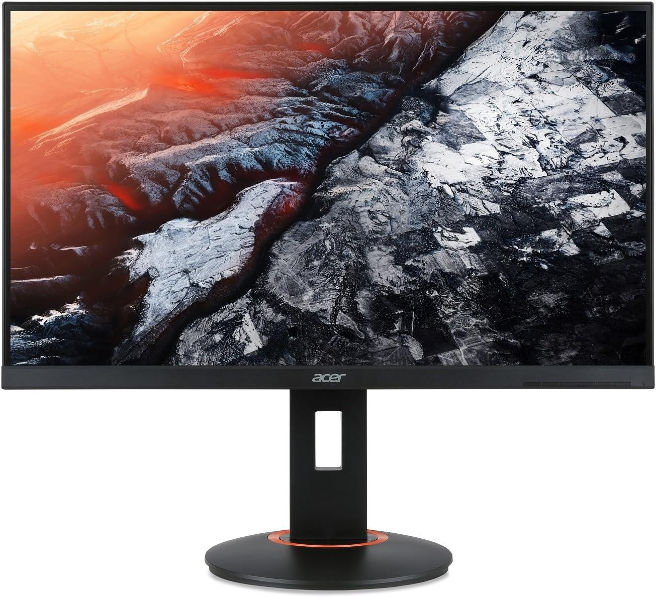 "Acer XF270HU Cbmiiprx 27"" WQHD (2560 x 1440) TN AMD FreeSync Gaming Monitor, 144Hz Refresh Rate, 1ms, (Display Port 1.2 & 2 x HDMI Ports),Black"