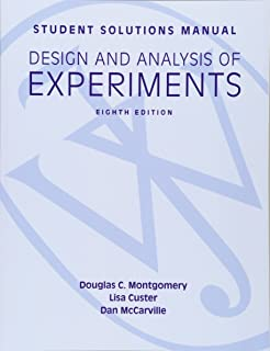 Statistical quality control douglas c montgomery 9781118146811 student solutions manual design and analysis of experiments 8e student solutions manual fandeluxe Images