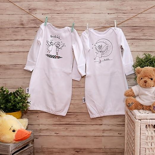76e54645f Amazon.com  Baby Sleepers Unisex Infant Sleepers Cotton Baby ...