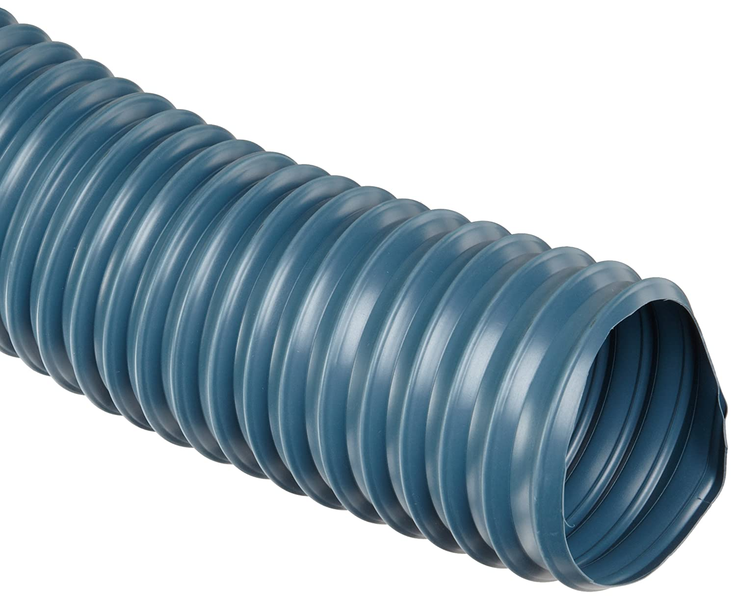 Flexadux R-2 PVC Duct Hose, Blue, For Use With Air, Fume FLECW