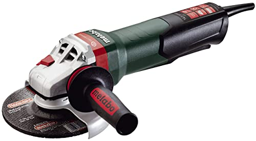 Metabo – 6 Angle Grinder – 9, 600 Rpm – 14.5 Amp w Brake, Non-Lock Paddle, Auto-Balancer, Electronics 600552420 17-150 Quick , Professional Angle Grinders