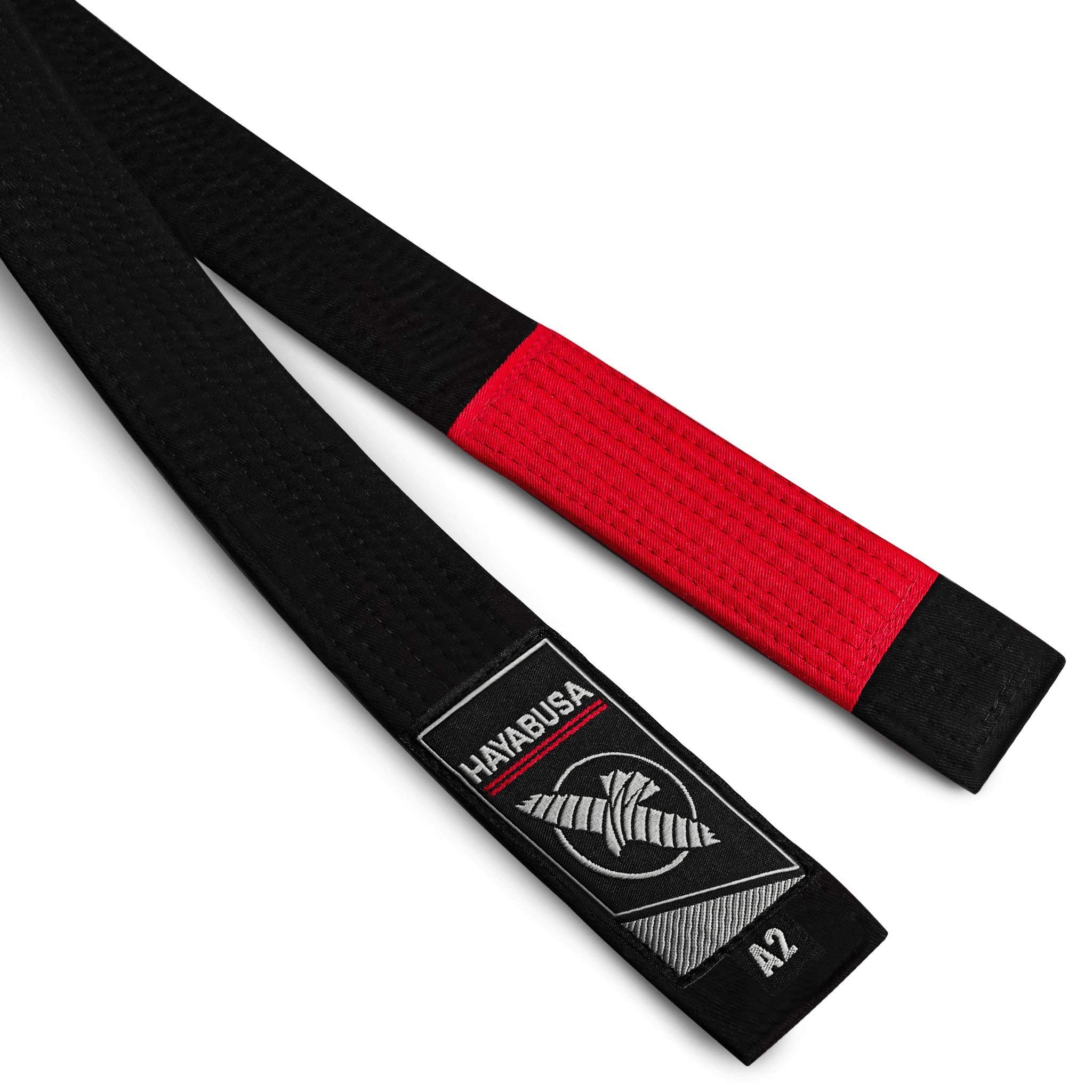 Hayabusa Unisex Jiu Jitsu Belt (New | 2018) (Black, A2) by Hayabusa