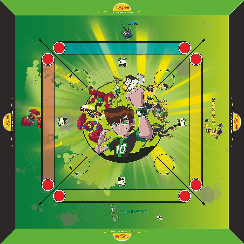 Toyzone Ben10 Carrom Board 20″