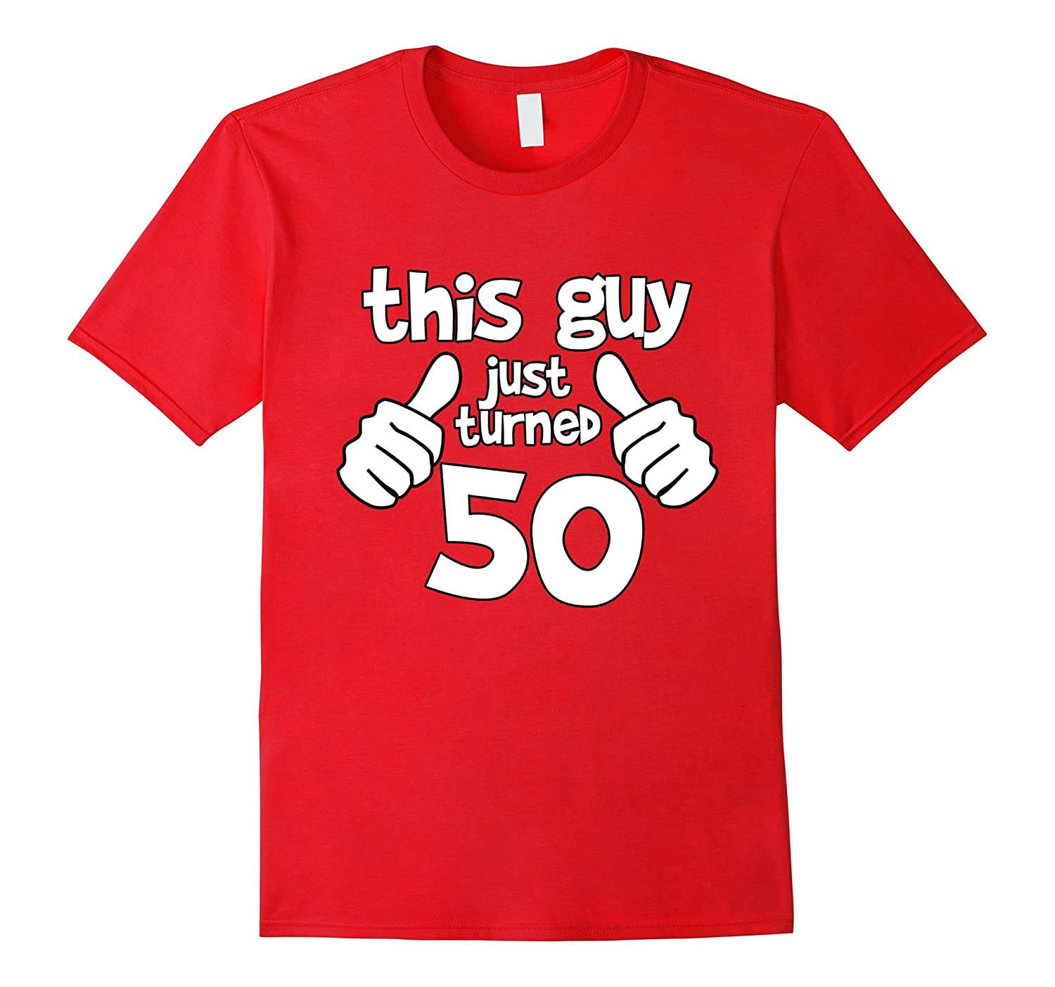 This Guy Is 50 Years Old Birthday T Shirt Ah My One Gift Ahmyshirt