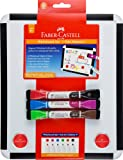 Faber-Castell Bicolour Whiteboard Set with board and markers, (67-570703)