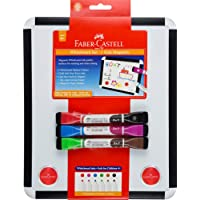 Faber-Castell MK570703 Whiteboard and Magnetic Markers Set