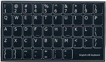 Qwerty Keyboard Stickers Self-...