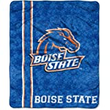 "NCAA Boise State Broncos Jersey Sherpa on Sherpa Throw, 50"" x 60"""