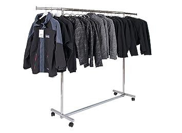 Rollständer Kleiderstange Kleiderständer Ladeneinrichtung Garderobenständer Neu
