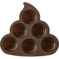 Wilton Rosanna Pansino Silicone Poop Swirl Treat Mold (Brown)