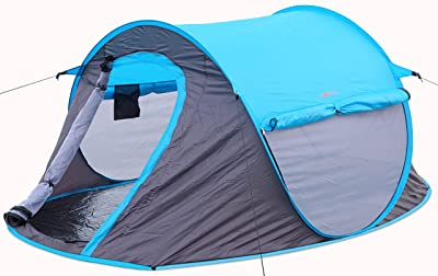 2 person Pop Up Tent – Opens Instantly in Seconds and is Perfect for Backpacking