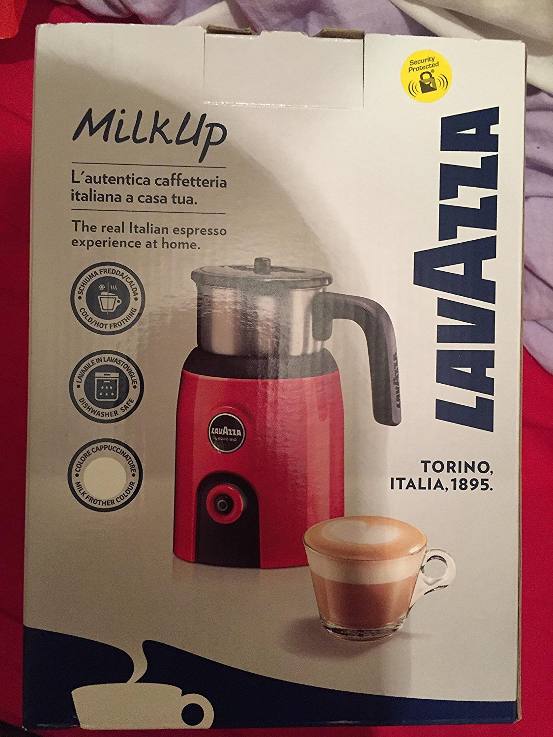 Lavazza Milk Up Frother White [Energy Class A+] 18200057