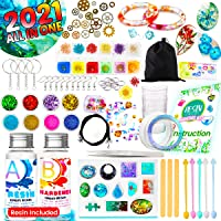 Innorock Epoxy Resin Jewelry Making Kit - DIY Resin Kits for Beginners with Silicone Molds and Resin Craft Supplies…
