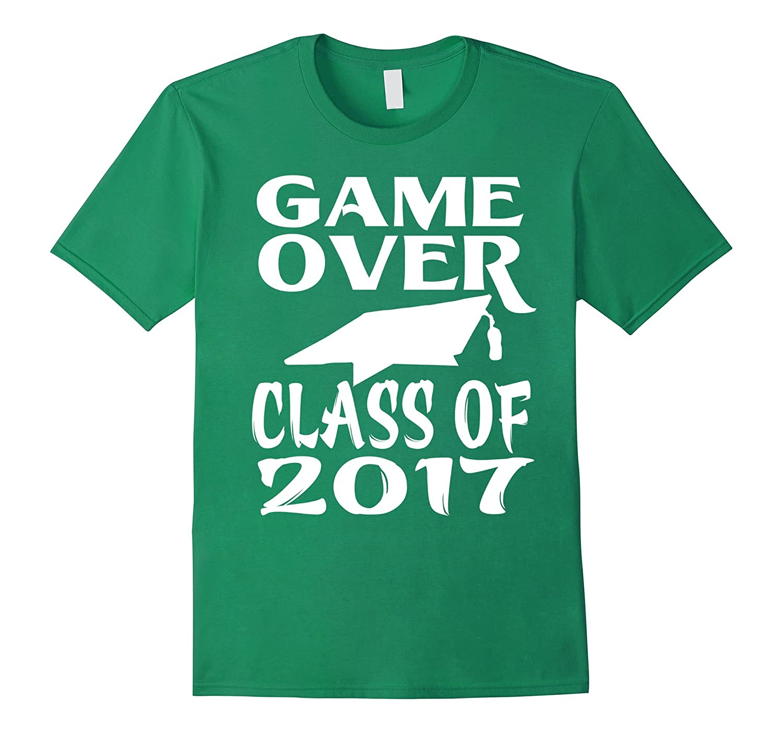College High School Graduation-Game over class of tshirt-Vaci