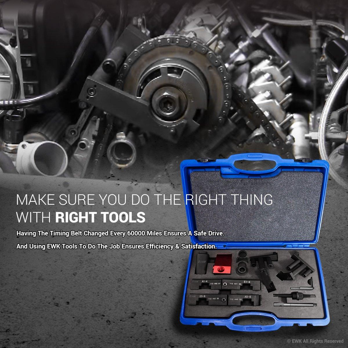 Ewk Vanos Timing Tool Camshaft Lock Alignment For Bmw Range Rover Belt M60 M62 M62tu Automotive