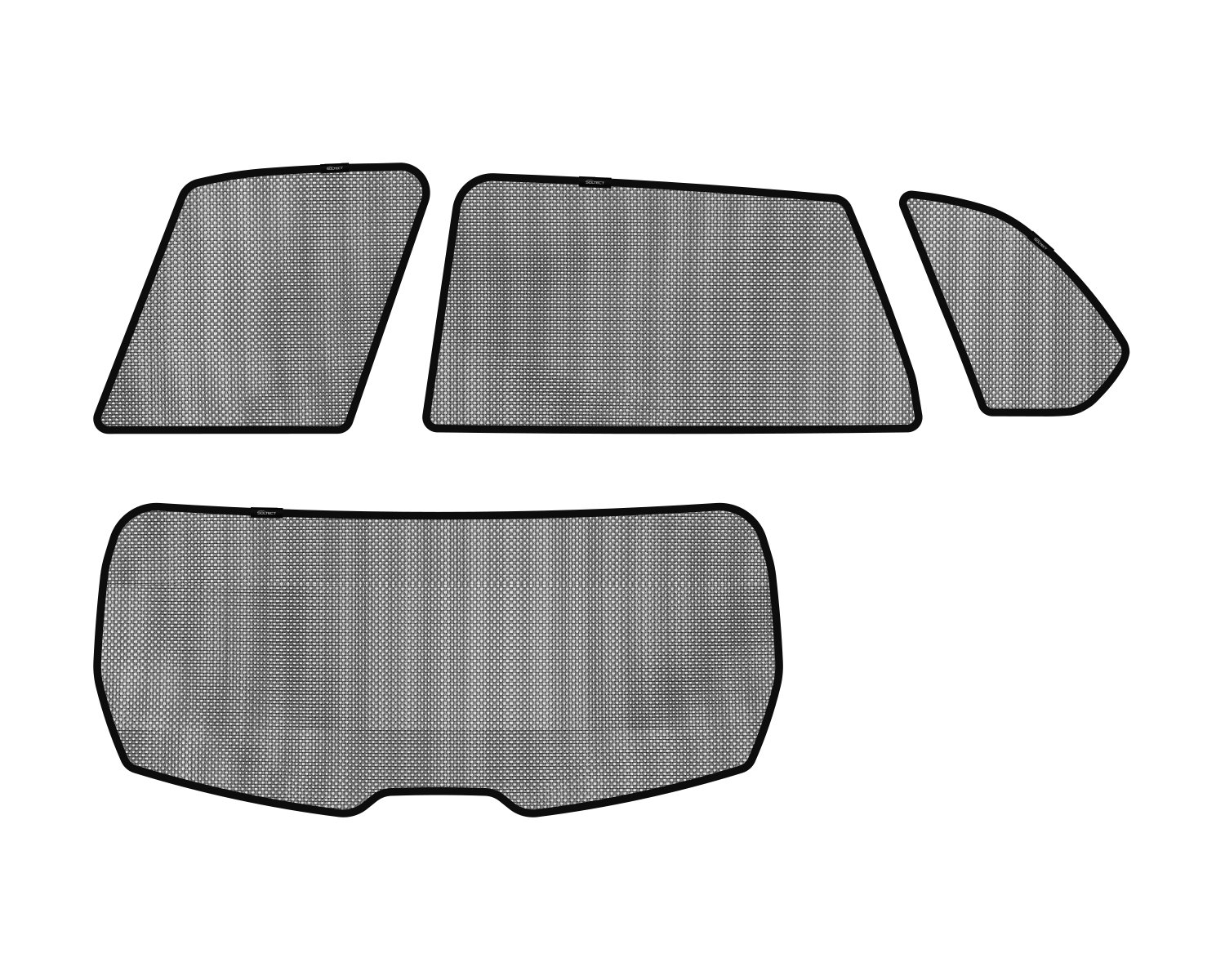 3D MAXpider S1BM0510 Soltect Complete Set Custom Fit Sun Shade (for Select BMW X5 Models)
