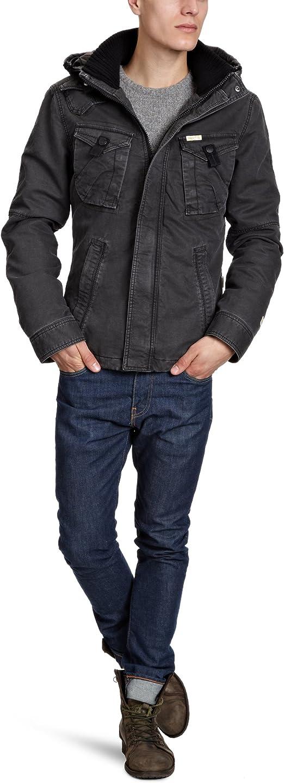 khujo Herren Jacke Slim Fit Franco 2147JK123, Gr. 54 (XL