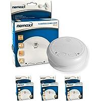 3X Nemaxx WL2 Détecteurs de fumée sans Fil - Conforme DIN en 14604