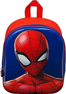 Spiderman Backpack for Boys Junior School Bag for Kids Spider Man Marvel  Superheroes Rucksack 3D Toddlers d4df0eaa84e4