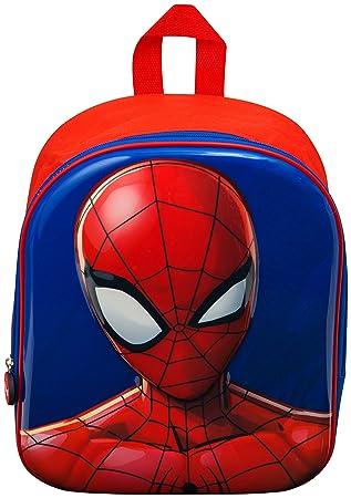 Mochila Niño Spiderman Bolsas Cumpleaños Infantil Mochilas Escolares Niños Marvel Vengadores Avengers 3D: Amazon.es: Equipaje