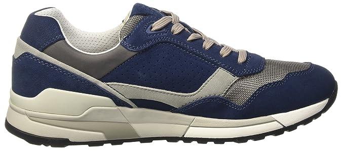Geox Men's U Goomter C Low Top Sneakers, Red: Amazon.co.uk