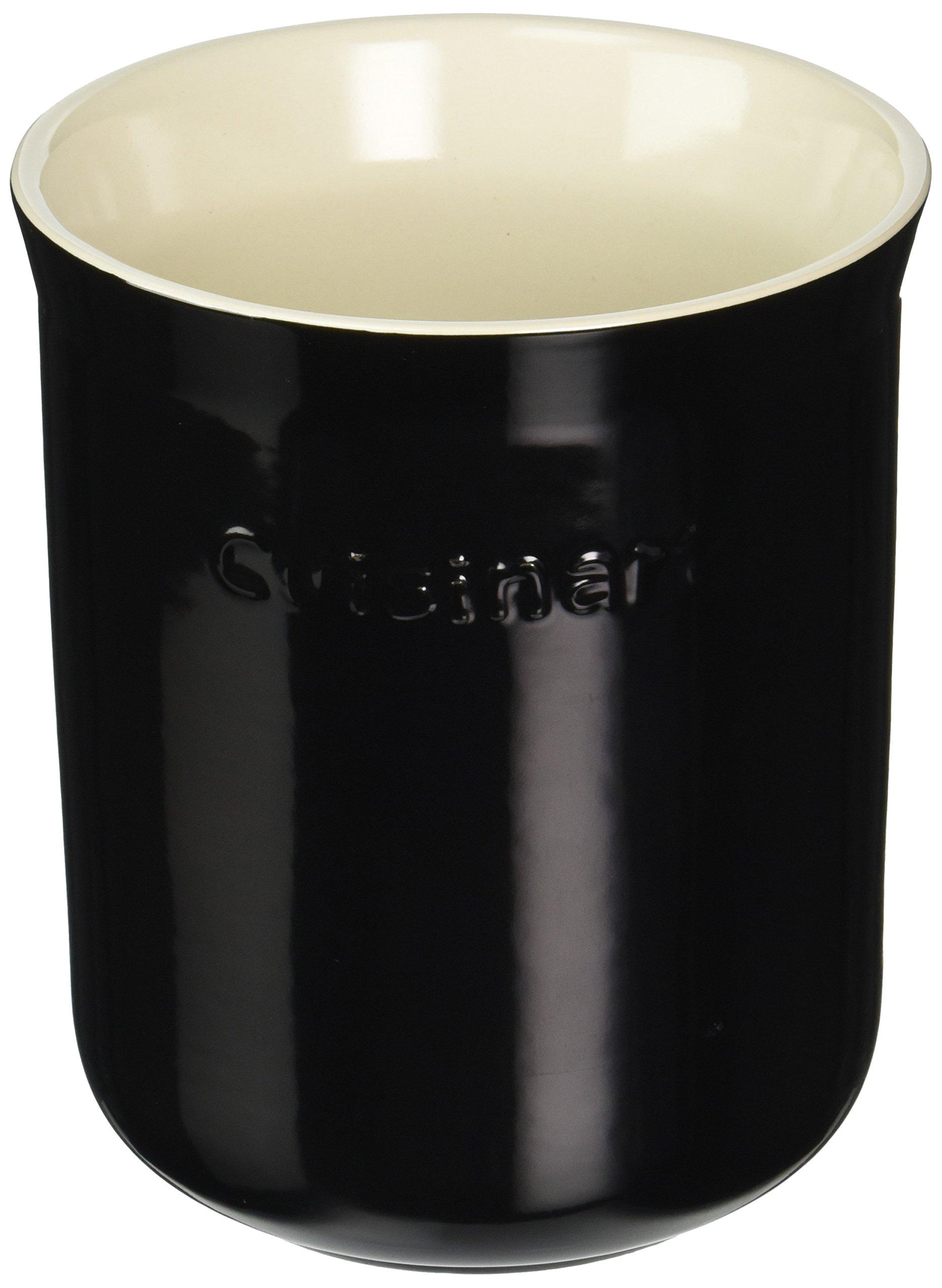 Cuisinart CTG-00-CCRBC Ceramic Crock, Black and Cream by Cuisinart