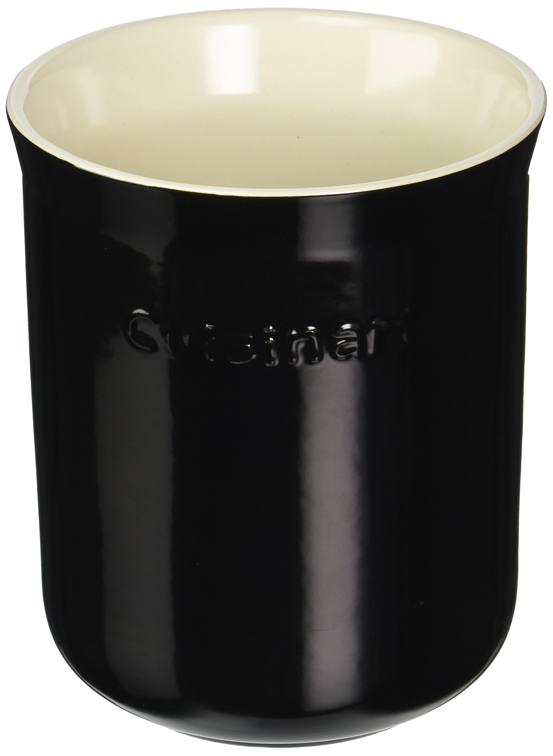 Cuisinart CTG-00-CCRBC Ceramic Crock, Black and Cream by Cuisinart
