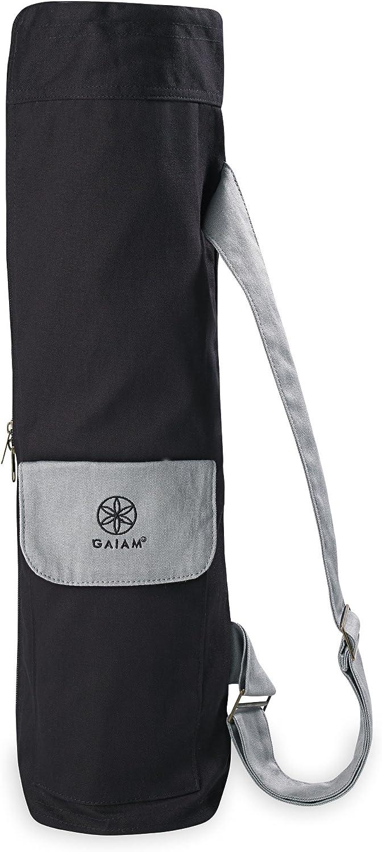 Gaiam Full-Zip Cargo Pocket Yoga Mat Bags