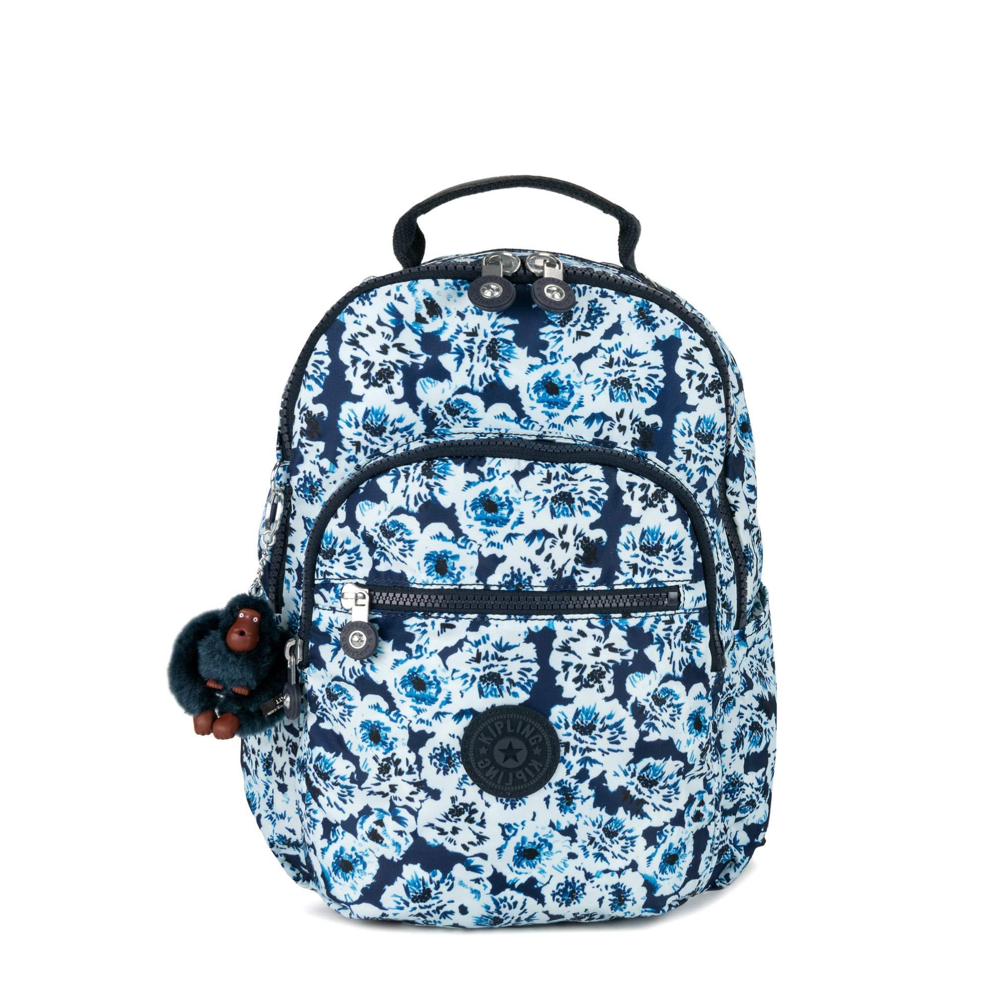 Kipling Seoul Go Small Printed Backpack One Size Roaming Roses