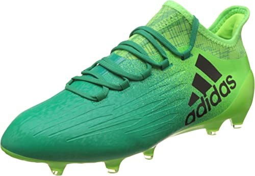 Gato de salto Ennegrecer Gimnasta  adidas X 16.1 FG – Men's Football Boots, Green – (Versol/Negbas/Verbas) 48  2/3: Amazon.co.uk: Shoes & Bags