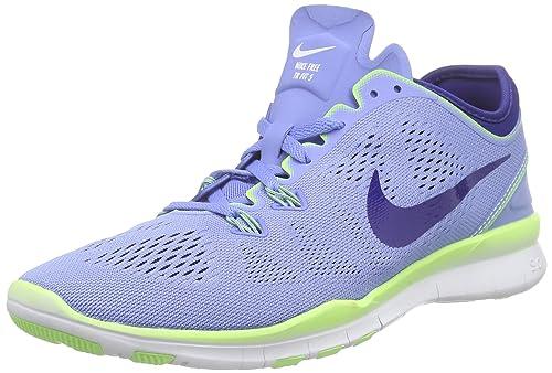 wholesale dealer f8913 66063 Nike Wmns Free 5.0 TR Fit 5, Zapatillas de Gimnasia para Mujer, Gris (Dark  Grey Hyper Orange-Blk-Vlt), 46 EU  Amazon.es  Zapatos y complementos