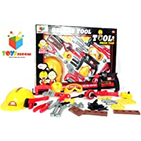 Toys Bhoomi Multifunctional Cognitive Enhancing Kids Hammering & Nailing Tools Kit Playset Toy