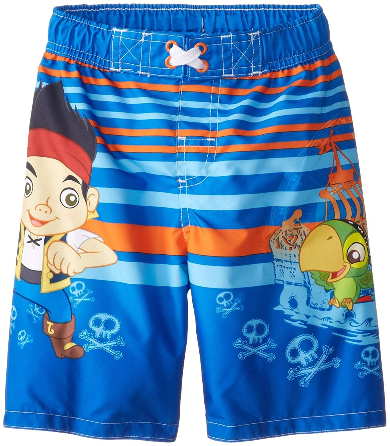 Disney Jake and The Never Land Pirates Little Boy Swim Trunks Size 5T