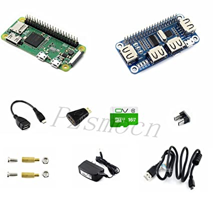 Amazon Com Pzsmocn Raspberry Pi Zero Wh Development Kit With Built