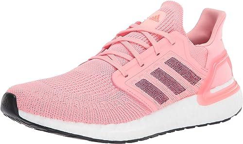 adidas Ultraboost 20 Zapatillas de Correr para Mujer, Rosa (Rosa ...