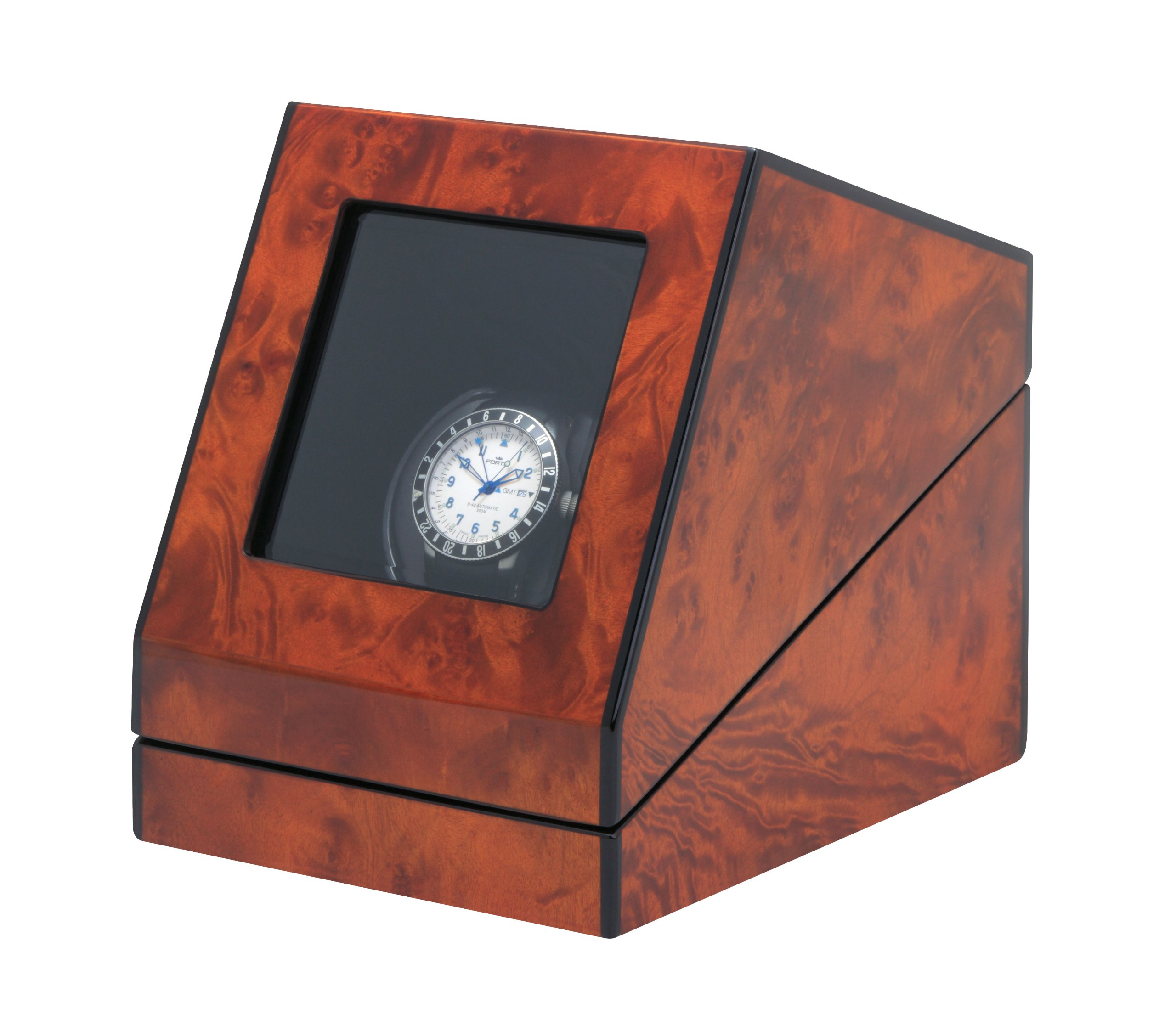 Siena One Programmable Watchwinder in Burl by Orbita by Orbita