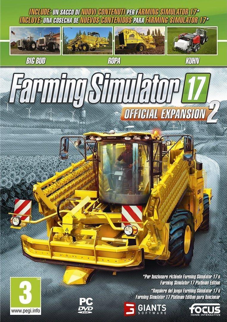 Farming Simulator 17 - Official Expansion 2: Amazon.es: Videojuegos