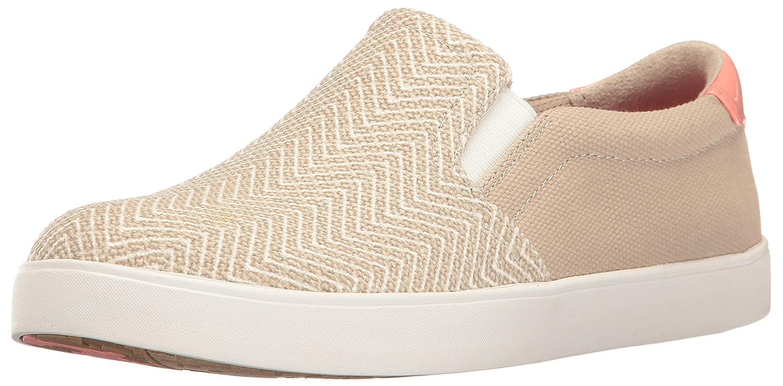 Dr. Scholl's Women's Madison Fashion Sneaker B01LYVYVMT 10 B(M) US|Taupe Chevron Canvas