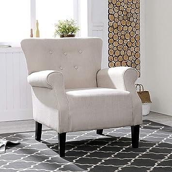 Amazon Com Lokatse Home Accent Arm Chair Modern Single Sofa Comfortable Furniture For Living Room Club Bedroom Furniture Decor