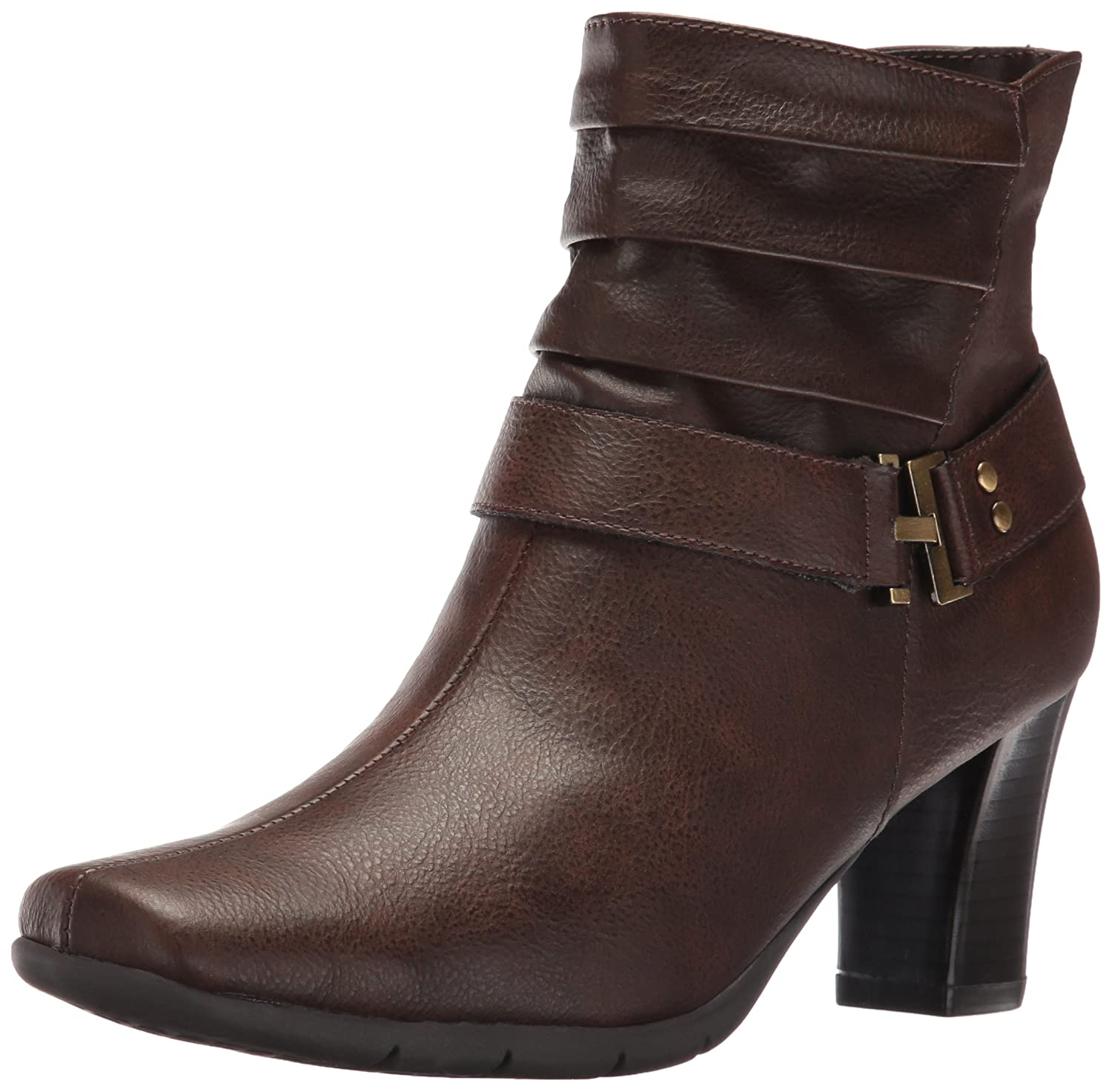 A2 by Aerosoles Women's Common Ground Boot, Brown, 10.5 M US