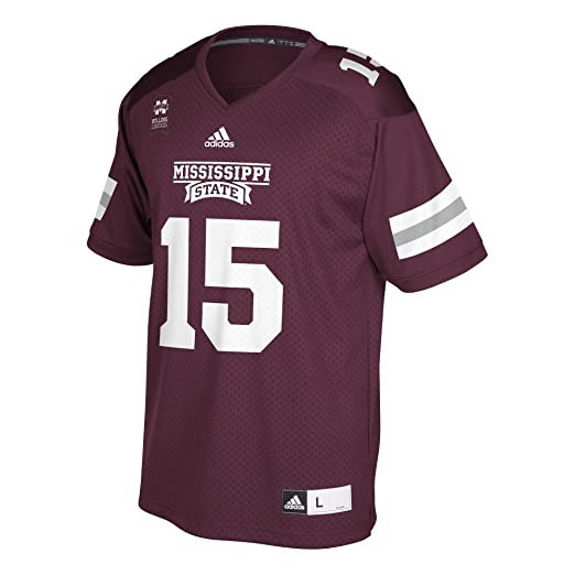 huge selection of 54b7a d54d6 Amazon.com : adidas Dak Prescott Mississippi Replica Jersey ...