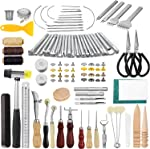 JOYPEA Leather Working Tools 195 PCS Leather Craft Stamping Tools with