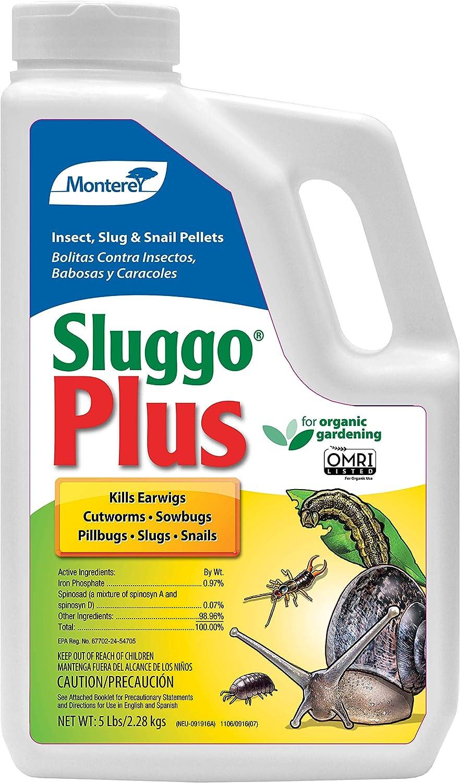 Monterey LG6580 Sluggo Plus Wildlife and Pet Safe Slug Killer, 5 lb