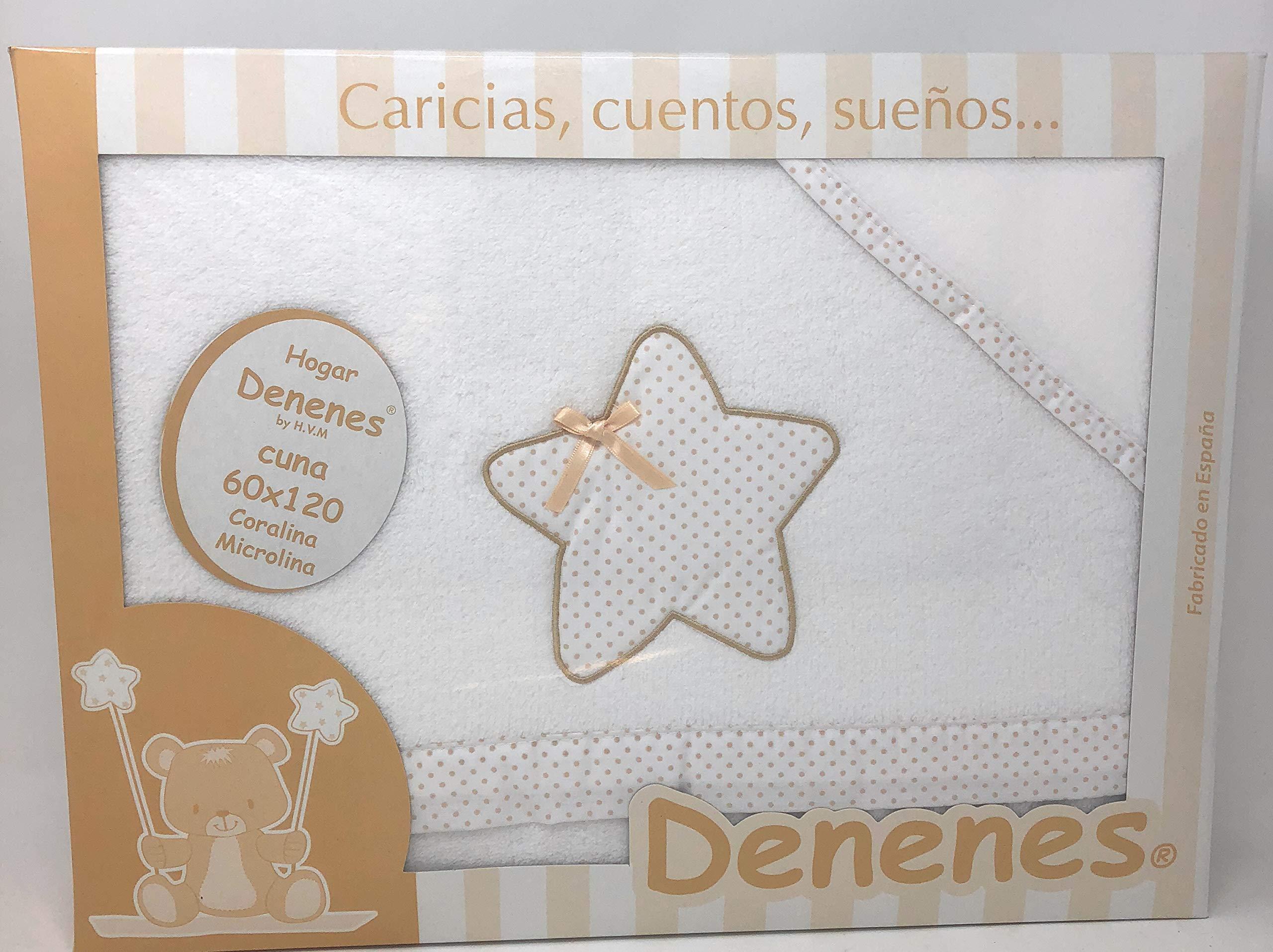 Danielstore-Sabanas invierno Coralina CUNA 60X120 - Estrella- (bajera+encimera+funda