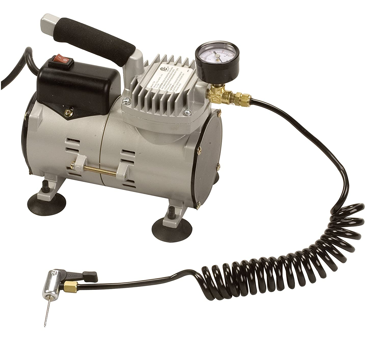 Champion Sports Ultra-Quiet Air Compressor Inflator