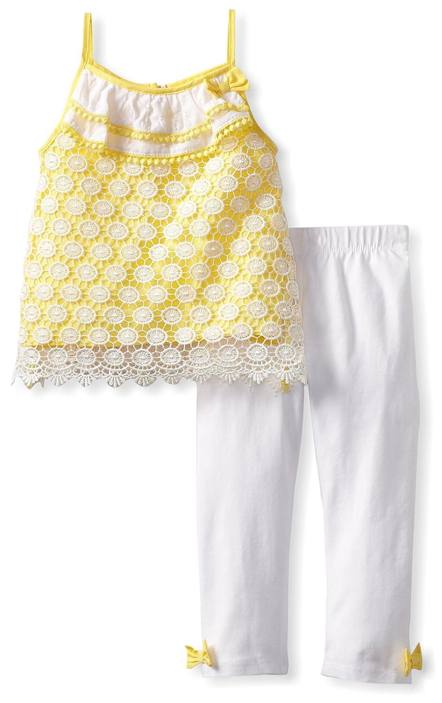 Amazon Mud Pie Baby Girls Infant Crochet Tunic And Legging Set